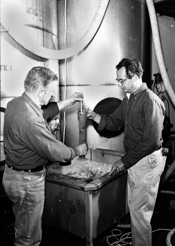 Dr. Gerald Ivancie and Warren Winiarski