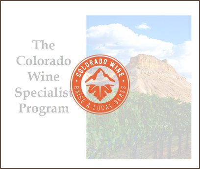 Colorado Wine Specialist Presentation